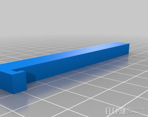 人形手机支架 3D模型  图2