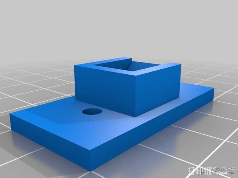 人形手机支架 3D模型  图6
