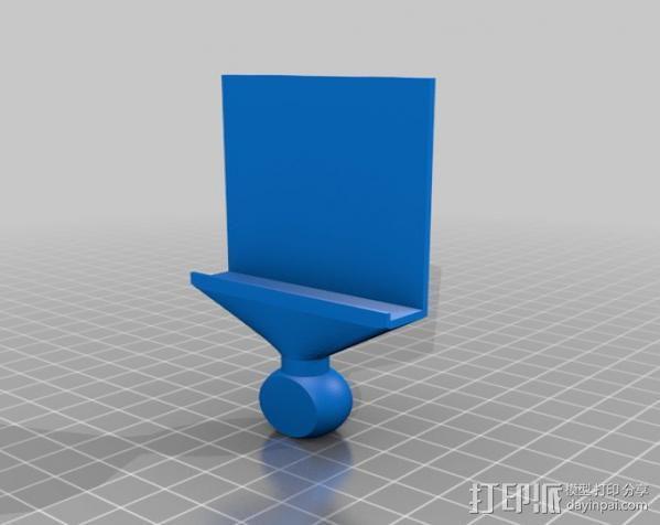 手机照相支架 3D模型  图4
