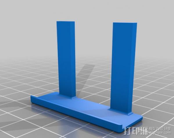 手机照相支架 3D模型  图5