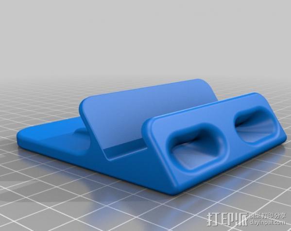 iPhone5手机支架 3D模型  图1