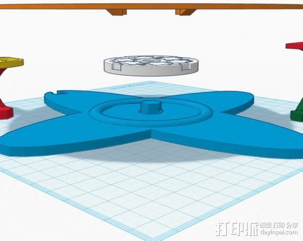 扫描转盘 3D模型  图8