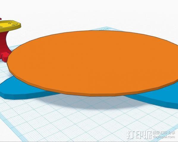 扫描转盘 3D模型  图6
