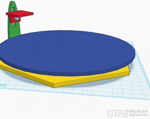 扫描转盘 3D模型  图4