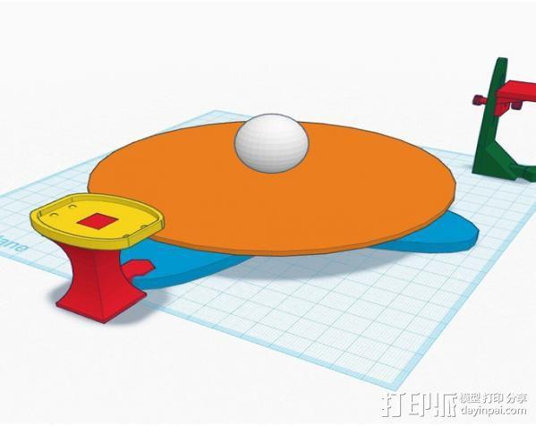 扫描转盘 3D模型  图9