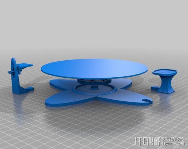 扫描转盘 3D模型  图10
