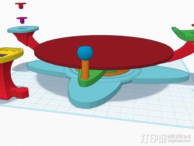 扫描转盘 3D模型  图11
