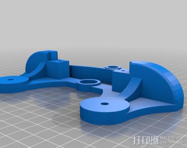 相机移动摄影车 3D模型  图2