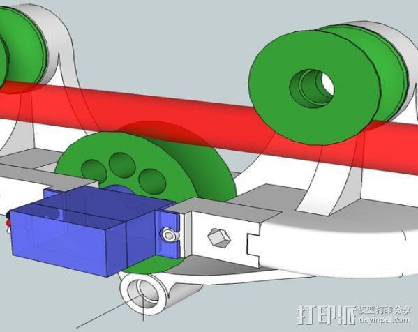 相机移动摄影车 3D模型  图1