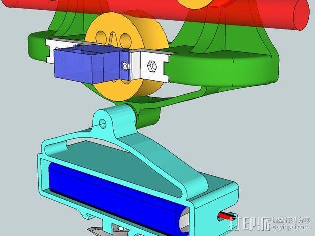 相机移动摄影车 3D模型  图5
