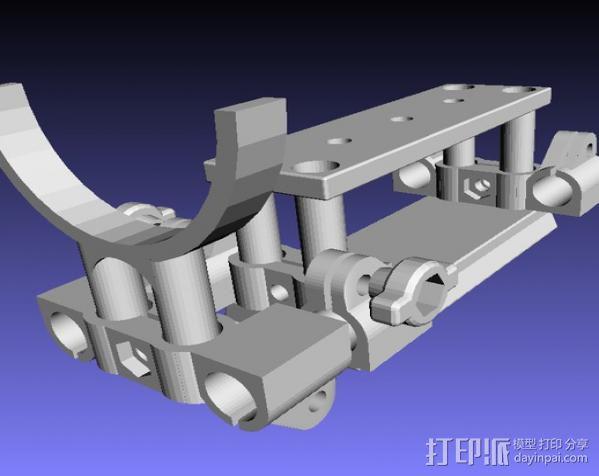 相机固定器 相机固定架 3D模型  图2