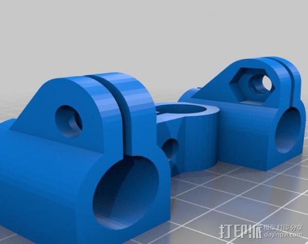 相机固定器 相机固定架 3D模型  图4