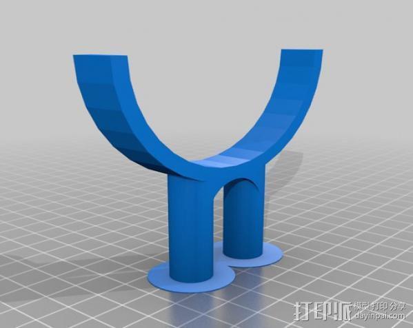 相机固定器 相机固定架 3D模型  图5