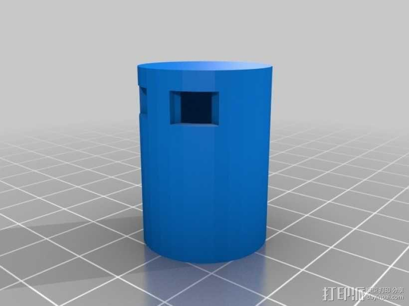 马达适配器 3D模型  图5
