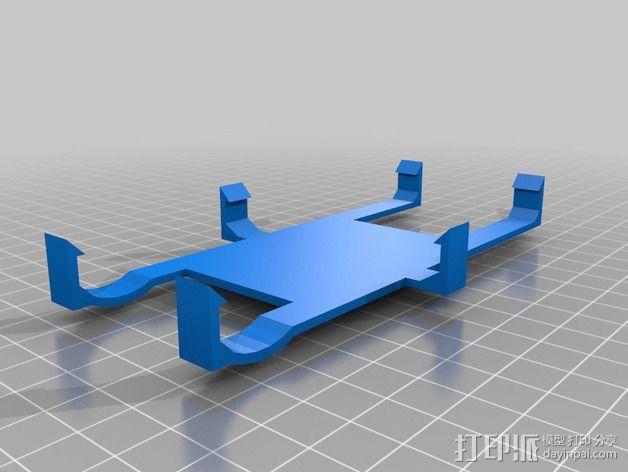 三星手机支架 3D模型  图1