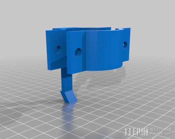三星手机支架 3D模型  图2
