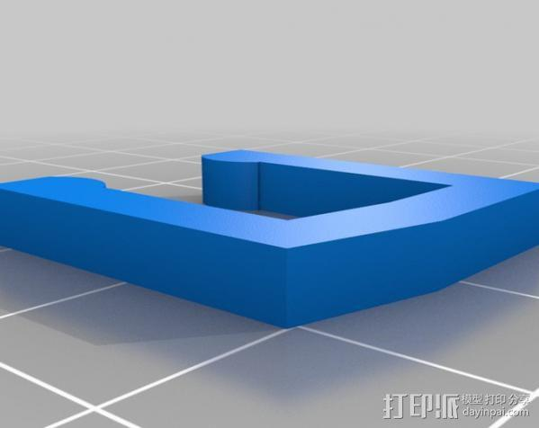 液态透镜框 3D模型  图4