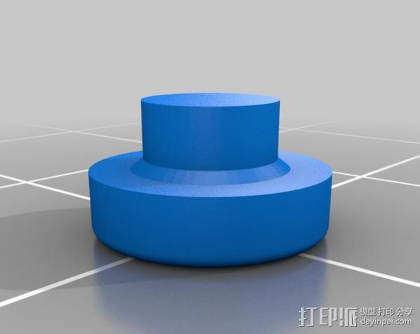 齿轮iPhone5 手机外壳 3D模型  图3