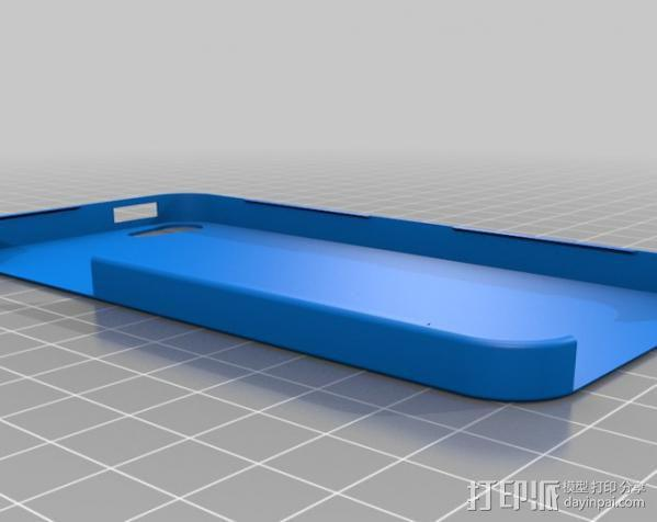 齿轮iPhone5 手机外壳 3D模型  图5
