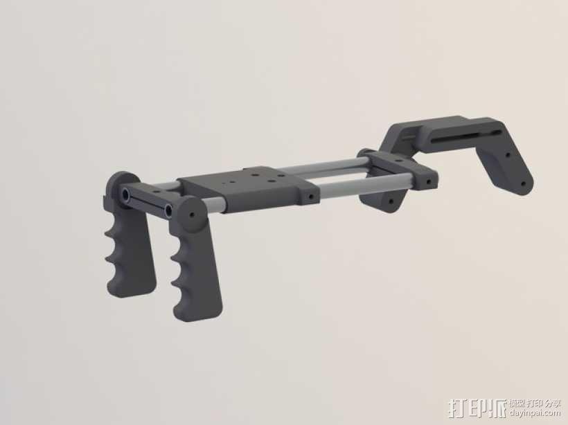 相机肩架 3D模型  图1