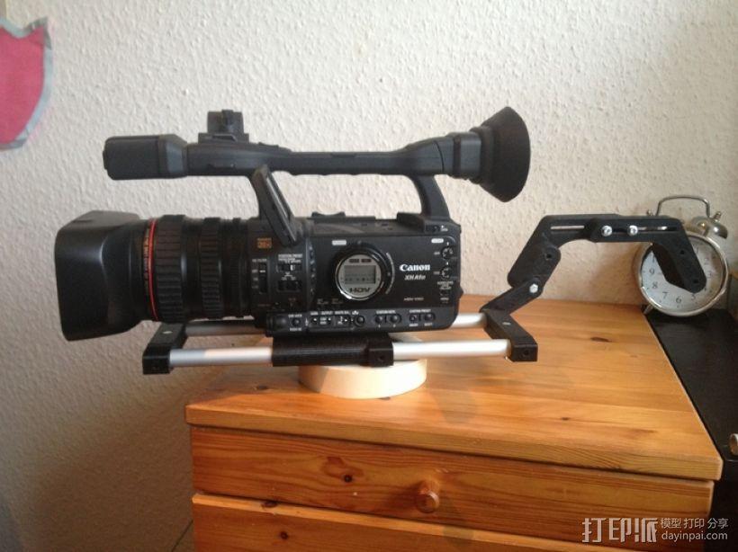 相机肩架 3D模型  图2