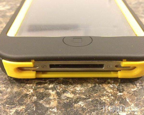 IPhone 4s 手机充电座 3D模型  图2