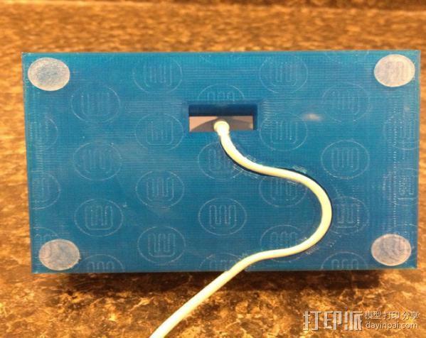 IPhone 4s 手机充电座 3D模型  图5