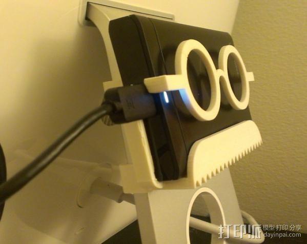 硬盘驱动器支架 3D模型  图2