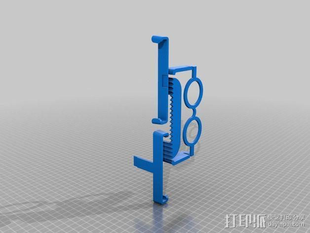 硬盘驱动器支架 3D模型  图4