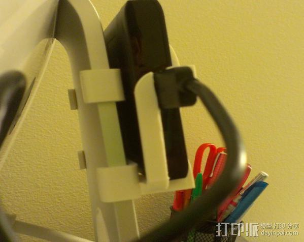 硬盘驱动器支架 3D模型  图3