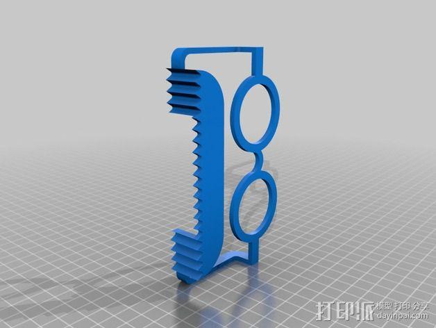 硬盘驱动器支架 3D模型  图6