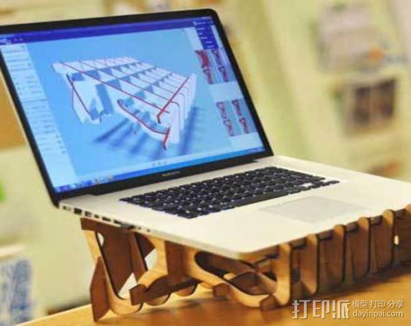 笔记本电脑支架 3D模型  图5