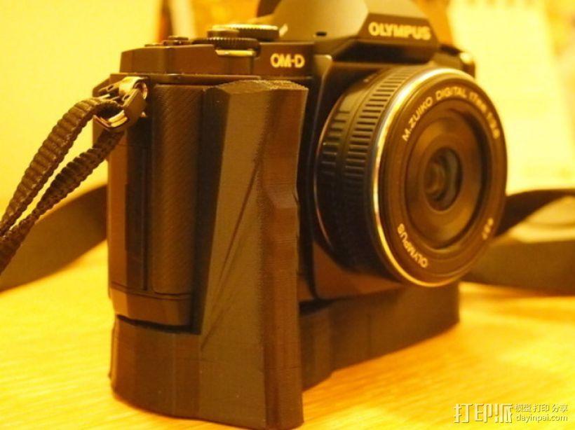 olympus相机手柄 3D模型  图3