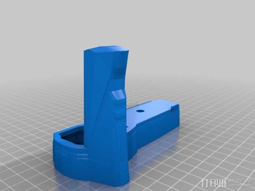 olympus相机手柄 3D模型  图1
