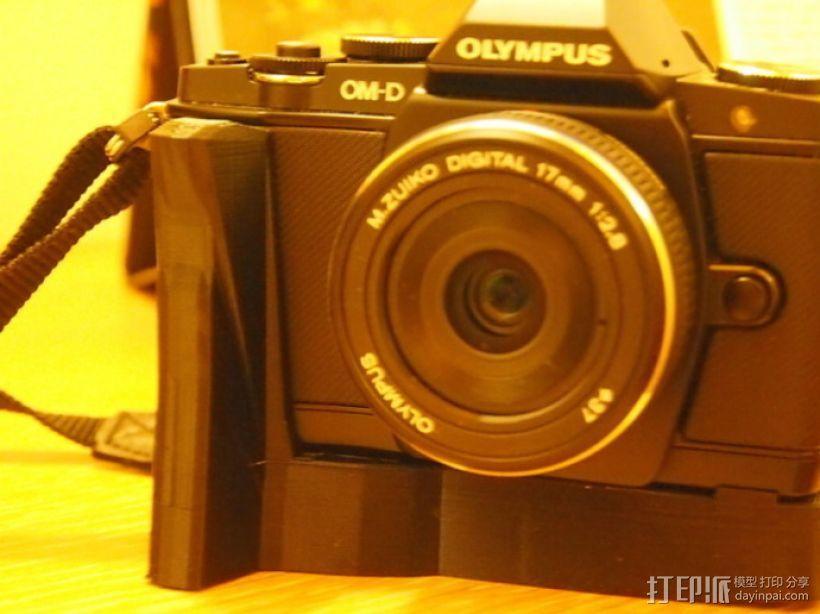 olympus相机手柄 3D模型  图2