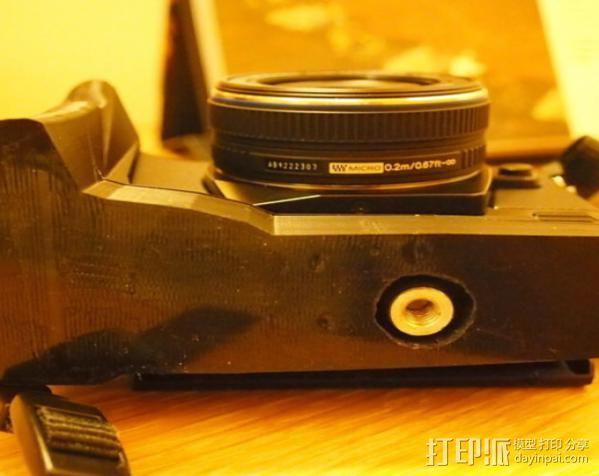 olympus相机手柄 3D模型  图4