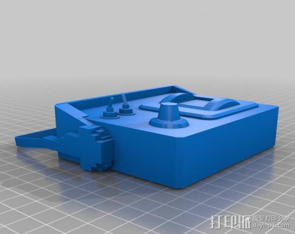 边防要塞 挖掘器 3D模型  图1