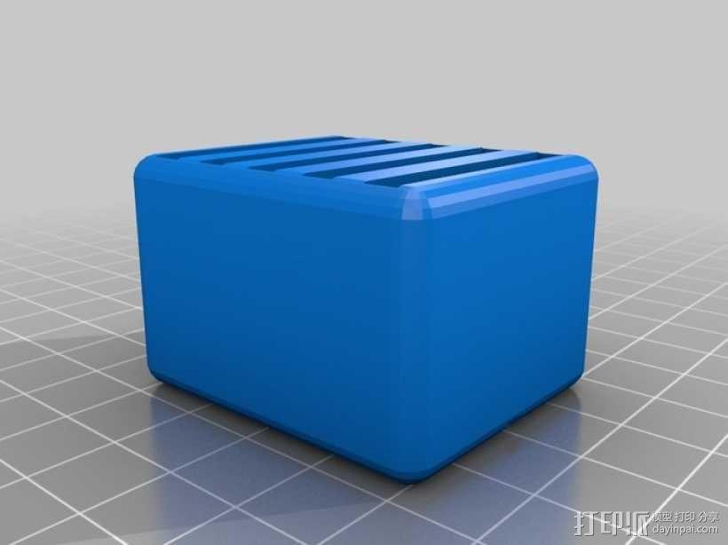 任天堂游戏卡收纳盒  3D模型  图2