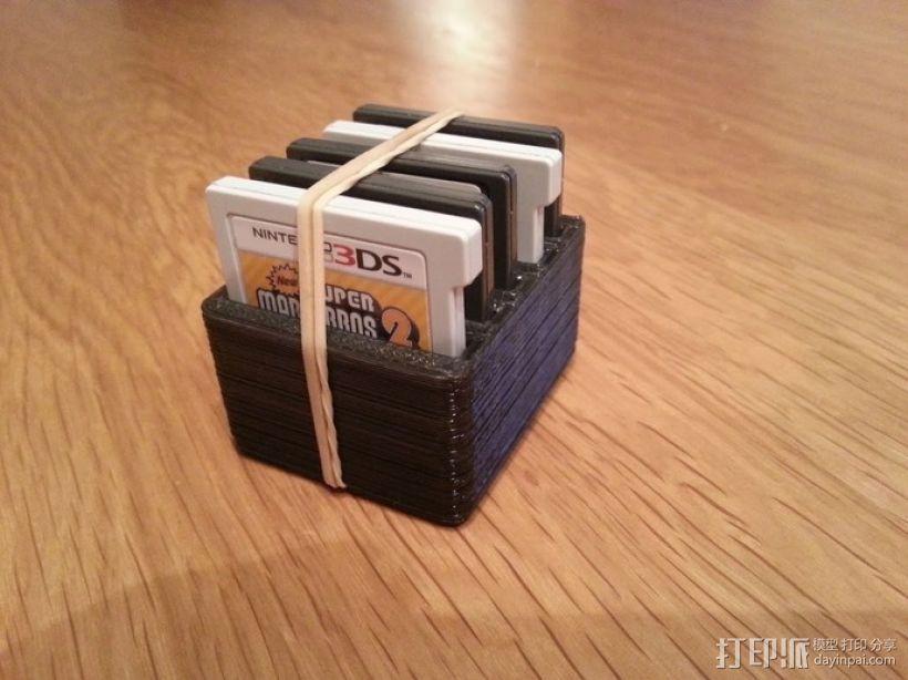 任天堂游戏卡收纳盒  3D模型  图3