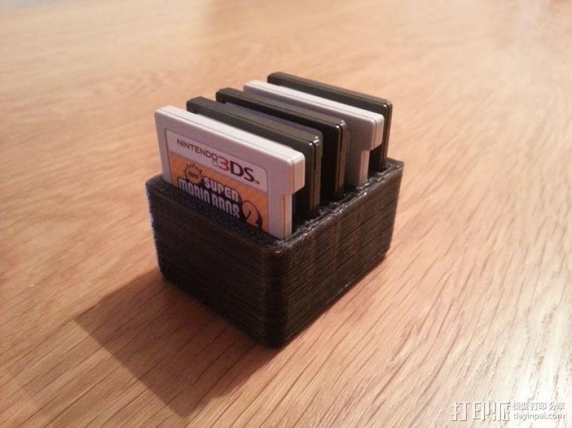 任天堂游戏卡收纳盒  3D模型  图4