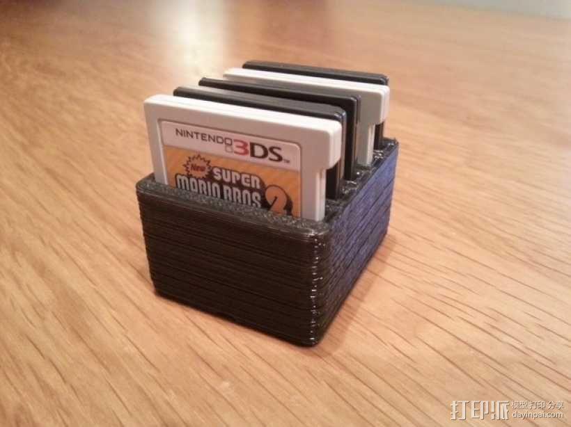 任天堂游戏卡收纳盒  3D模型  图5