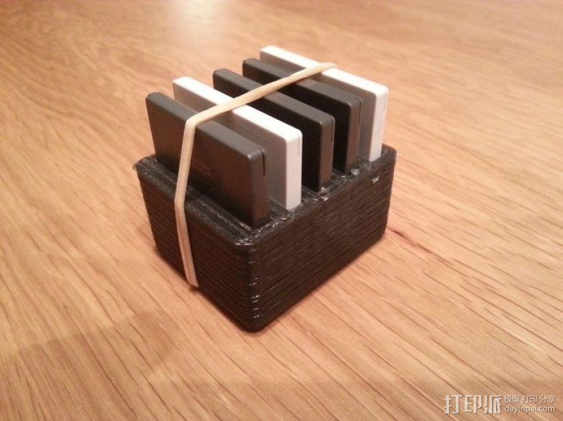 任天堂游戏卡收纳盒  3D模型  图6