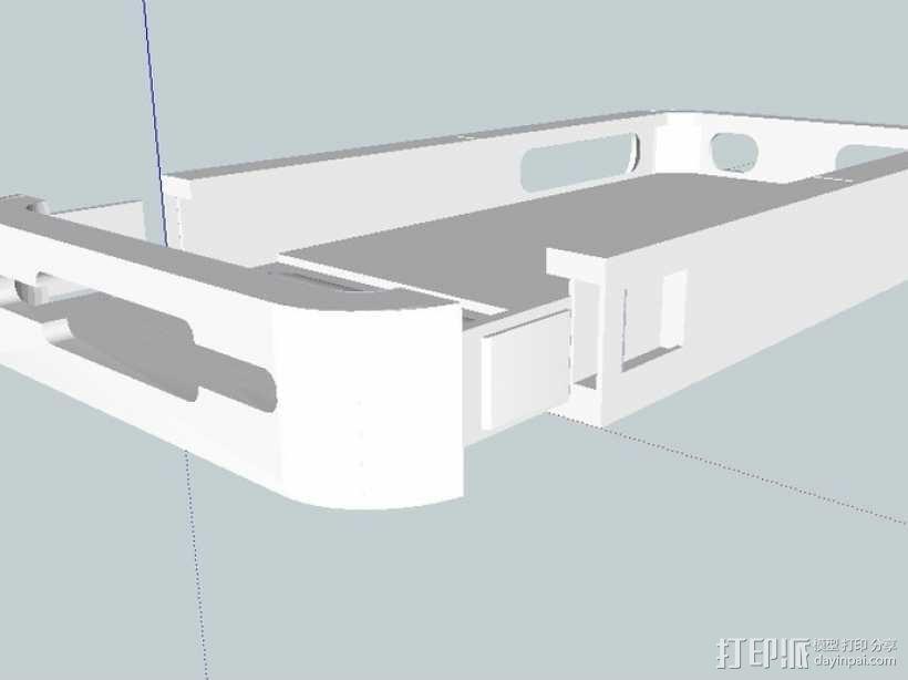 Iphone 4s手机套 3D模型  图6