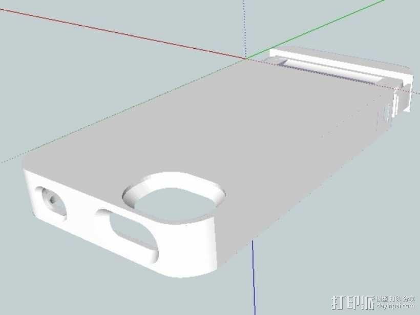 Iphone 4s手机套 3D模型  图5