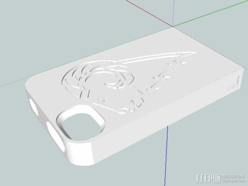 Iphone 4s手机套 3D模型  图7