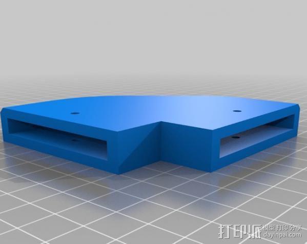 梯形电脑支架 3D模型  图2