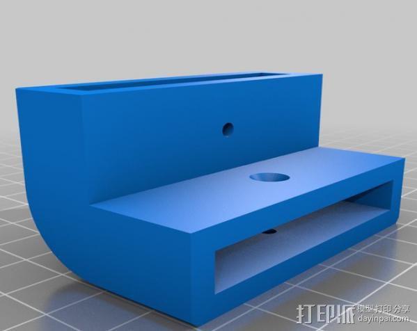 梯形电脑支架 3D模型  图3