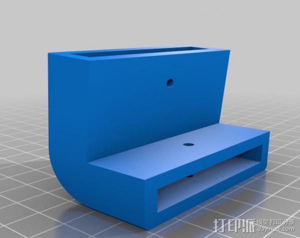 梯形电脑支架 3D模型  图4