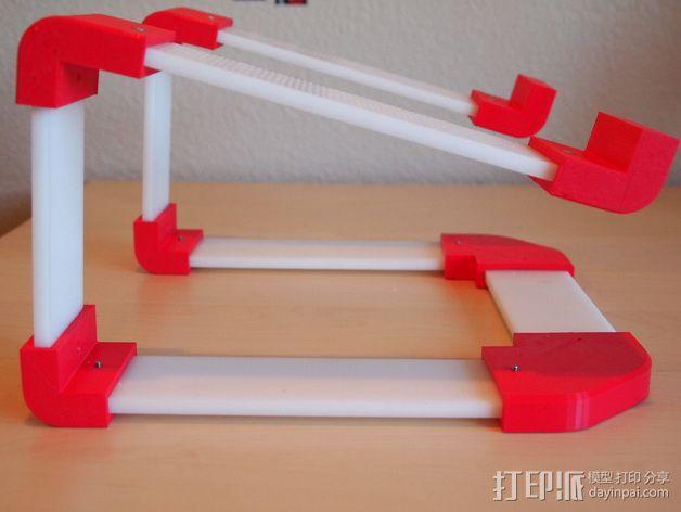 梯形电脑支架 3D模型  图5