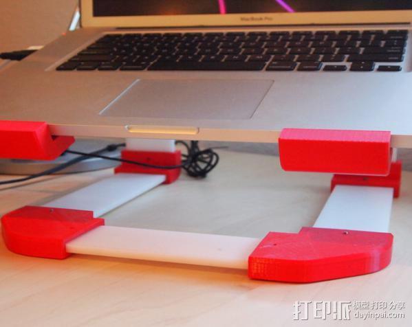 梯形电脑支架 3D模型  图7